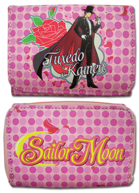 Sailor Moon Tuxedo Mask Tri-fold Wallet