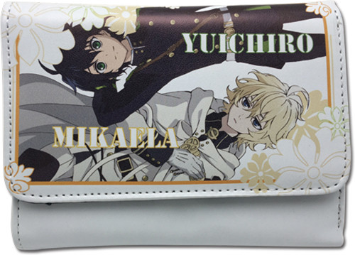 Seraph Of The End White Yuichiro, Mikaela Hinge Wallet