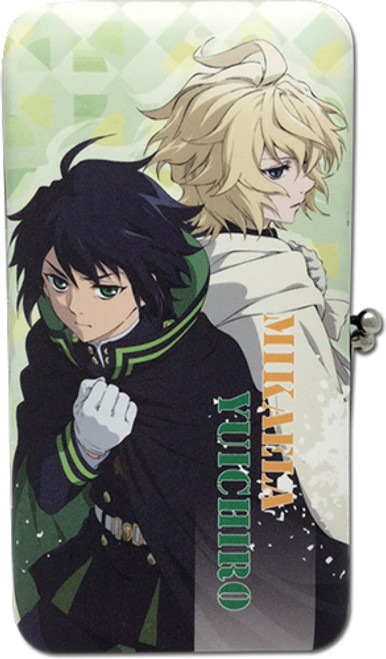Seraph Of The End Mikaela, and Yuchiro Hinge Wallet