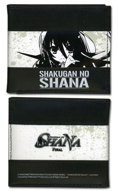 Shakugan No Shana Black Shana Bi-fold Wallet