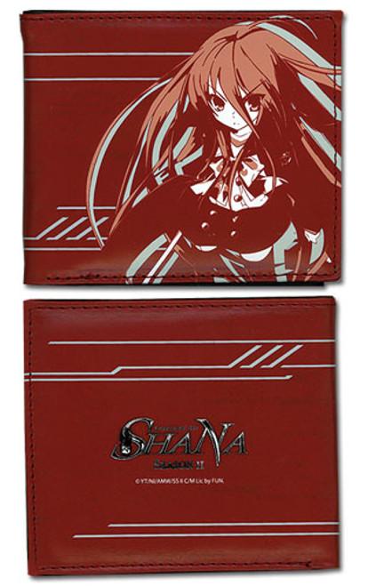 Shakugan No Shana Red Shana Bi-fold Wallet