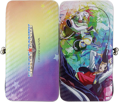 Space Dandy Meow, QT, and Dandy Hinge Wallet
