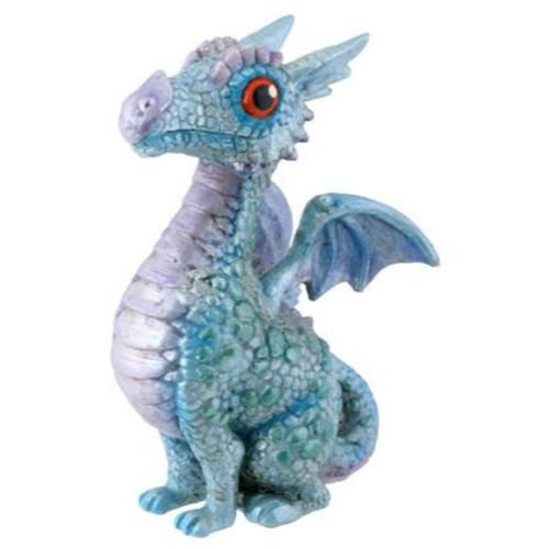 Baby Blue Dragon Sitting