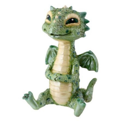 Baby Green Dragon Smiling