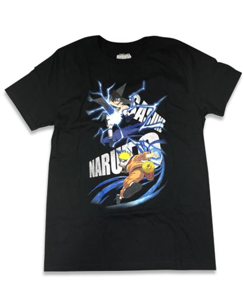 Naruto - Sasuke Vs Naruto T-Shirt