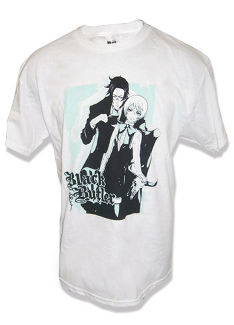 Black Butler 2 - Claude Helping Alois With His Coat T-Shirt
