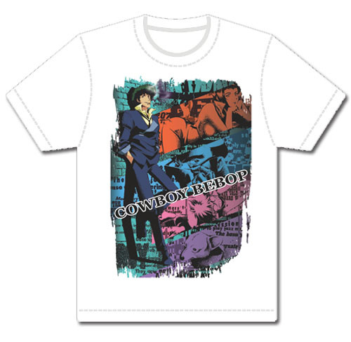 Cowboy Bebop - Spike And The Crew T-Shirt