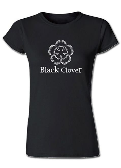 Black Clover - Drawn Five Leaf Clover Symbol JRS T-Shirt