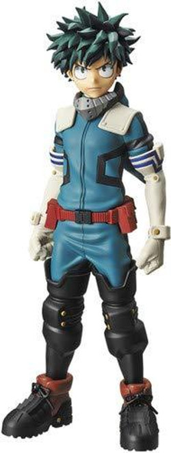 My Hero Academia Serious  Izuku Midoriya (Deku) Hero Costume Banpresto / Little Buddy Figurine