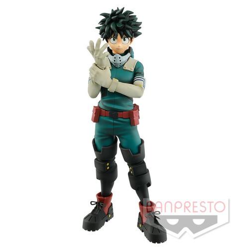 My Hero Academia Izuku Midoriya (Deku) Getting Into Hero Costume Banpresto / Little Buddy Figurine