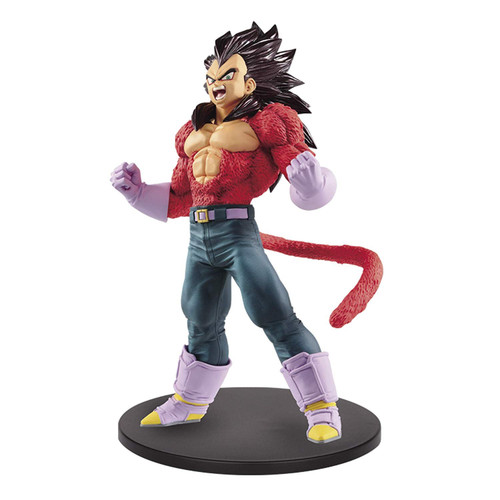 Dragon Ball Super Saiyan Vegeta Boasting Banpresto / Little Buddy Figurine