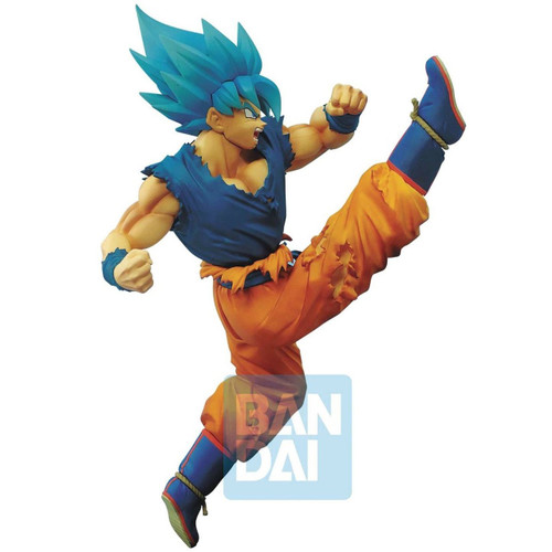 Dragon Ball Super Saiyan Blue Son Goku Banpresto / Little Buddy Figurine