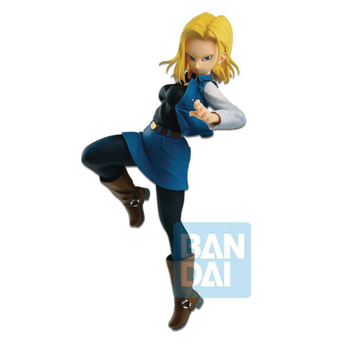 Dragon Ball Fighterz Android 18 Mid-Kick Banpresto / Little Buddy Figurine