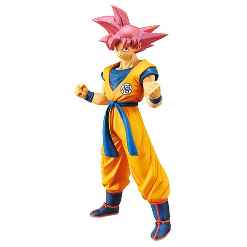 Dragon Ball Super Saiyan God Son Goku In Training Outfit Banpresto / Little Buddy Figurine