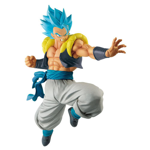 Dragon Ball S. S. Blue Gogeta Throwing A Punch Banpresto / Little Buddy Figurine