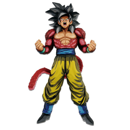 Dragon Ball Super Saiyan Four Son Goku Powering Up Banpresto / Little Buddy Figurine