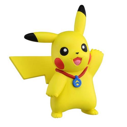 Pokemon Ultra Guardians Pikachu With Metal Takaratomy Figurine