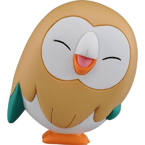 Pokemon Rowlet Happy Face Takaratomy Figurine