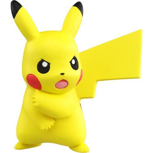 Pokemon Pikachu Ready For Battle Takaratomy Figurine