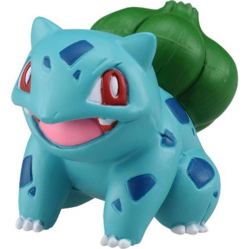 Pokemon Bulbasaur Smiling Takaratomy Figurine