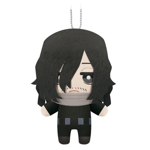 My Hero Academia Chibi Eraser Head (Shota Aizawa) Dangler Plushie