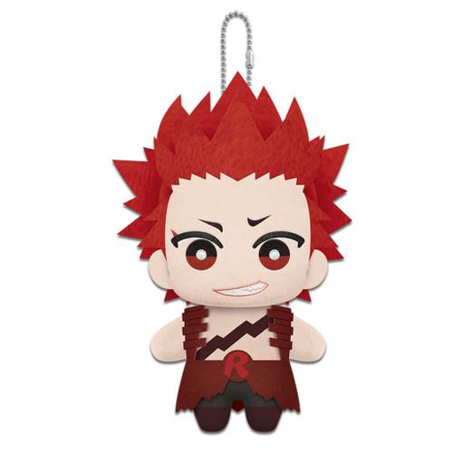My Hero Academia Chibi Red Riot (Eijiro Kirishima) Dangler Plushie