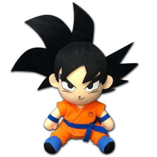 Dragon Ball Goku Kaioken Sitting Plushie