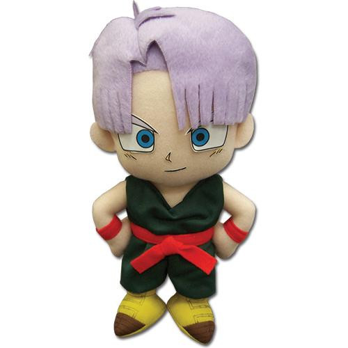 Dragon Ball Trunks Standing With Fists On His Sides Plushie