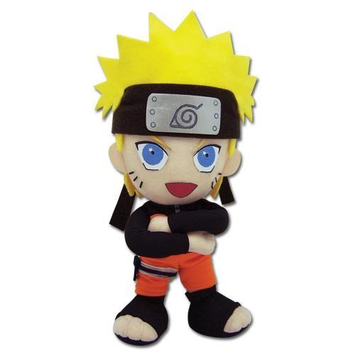 Naruto Naruto In His BlackHeadband Arms Folded Plushie