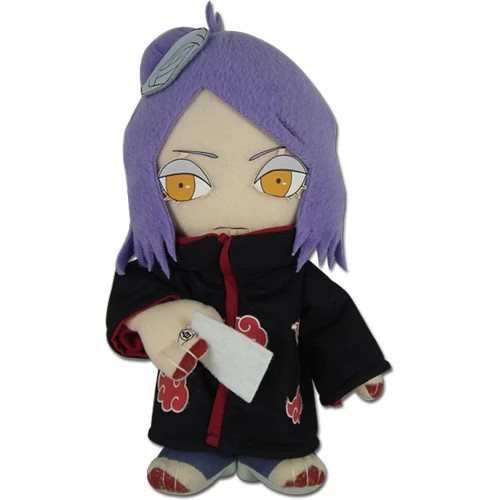 Naruto Konan With Paper In Hand Plushie