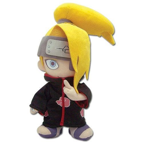 Naruto Deidara With High Bun Plushie