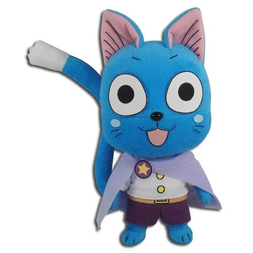 Fairy Tail Happy With Celestial Spirits Clothes Plushie