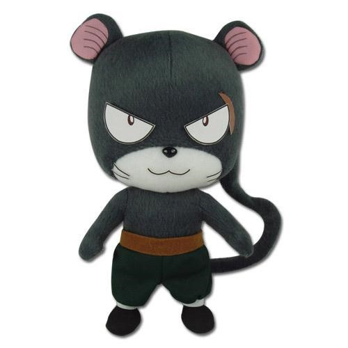 Fairy Tail Pather Lily Determined Plushie