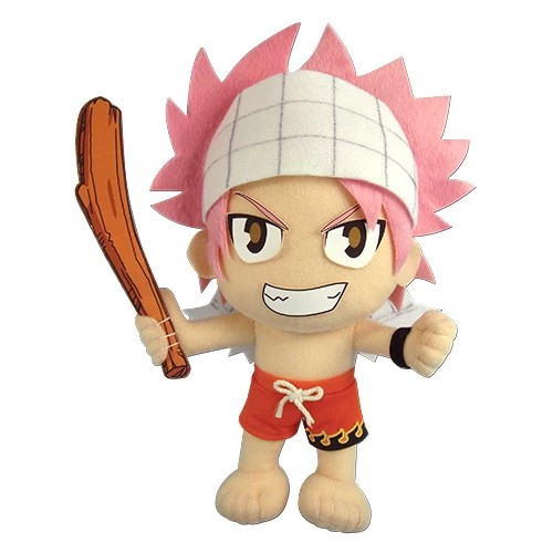 Fairy Tail Natsu Dragneel In Swimsuit Plushie