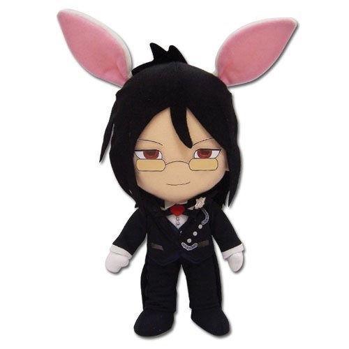 Black Butler Sebastian With Bunny Ears Plushie
