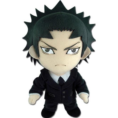 Assassination Classroom Tadaomi Karasuma In Black Suit Plushie