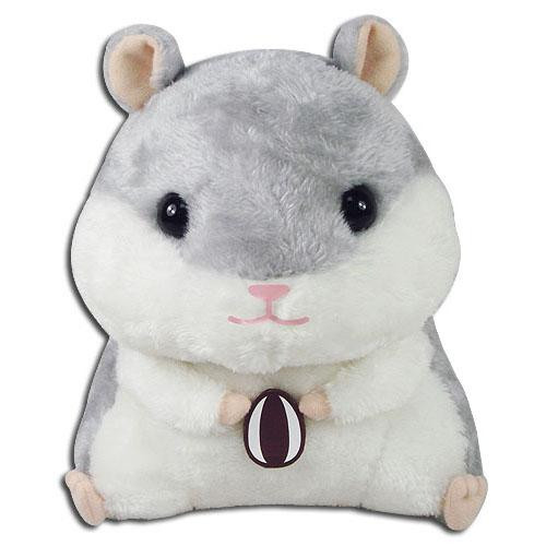 Hamster Gray Hamster With A Sunflower Seed Plushie