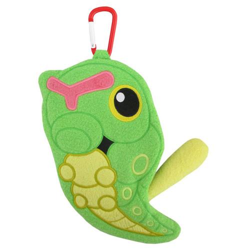 Pokemon Caterpie Plushie Zipper Pouch