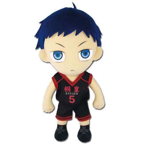Kuroko's Basketball Daiki Aomine In Uniform Plushie