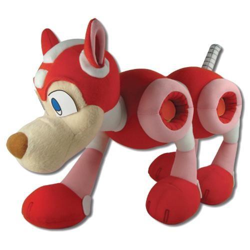 Mega Man Robot Dog Rush Plushie