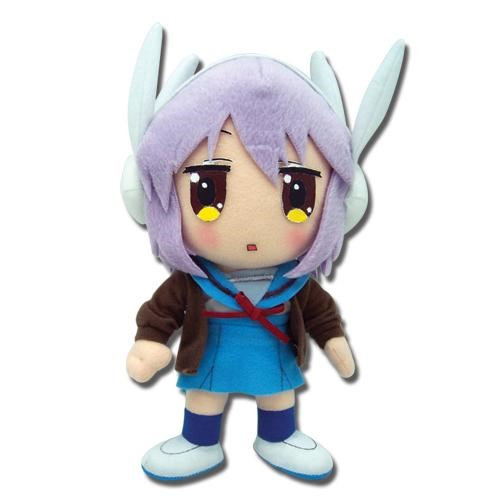 Melancholy of Haruhi Suzumiya Yuki Nagato With Worried Expression Plushie