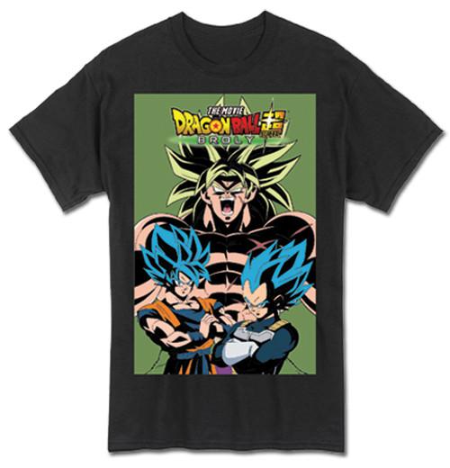 Dragon Ball Broley Behind Goku And Vegeta T-Shirt