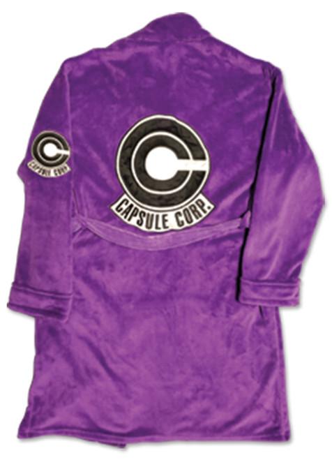 Dragon Ball Trunk's Capsule Corp. Sigil Bath Robe