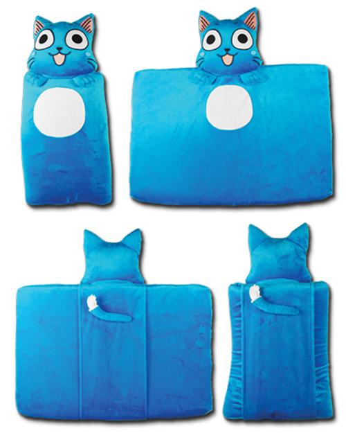 Fairy Tail Happy Body-Shaped Cushion Pillow