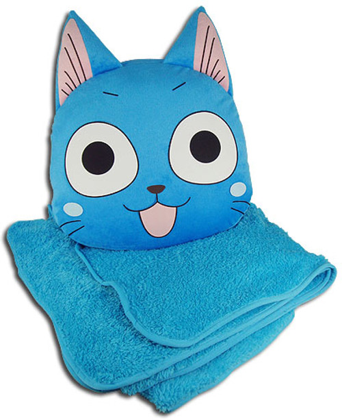 Fairy Tail Happy Blanket And Pillow