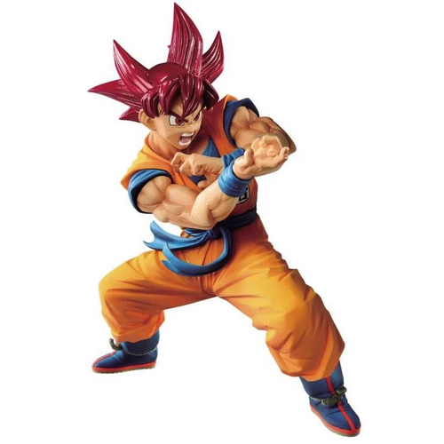 Dragon Ball Super Saiyan God Goku Banpresto / Little Buddy Figurine