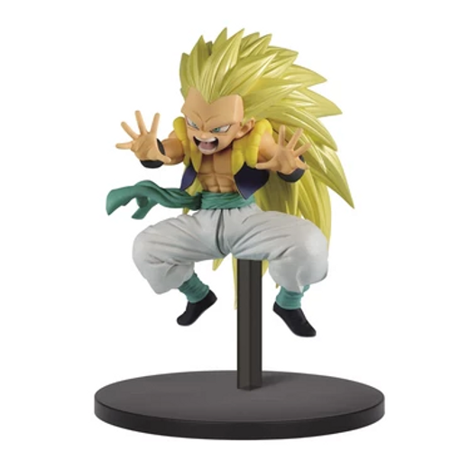 Dragon Ball Super Saiyan Three Gotenks Banpresto / Little Buddy Figurine
