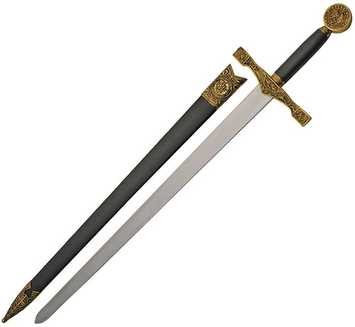 Golden Excalibur 29.25'' Full-Functional Sword