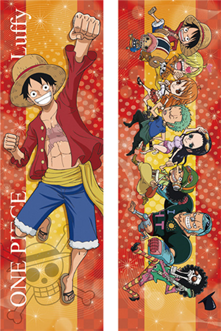 One Piece Luffy & Chibi Friends Body Pillow Case Only