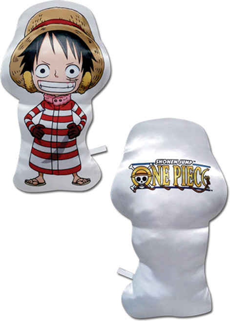 One Piece Chibi SD Luffy Pillow